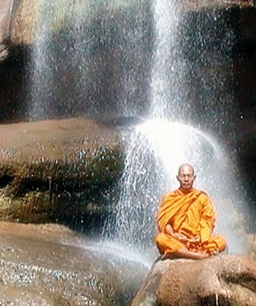 Meditation-Waterfall
