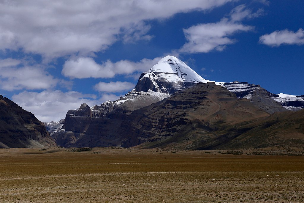 Mount Kailash the earth's crown chakra