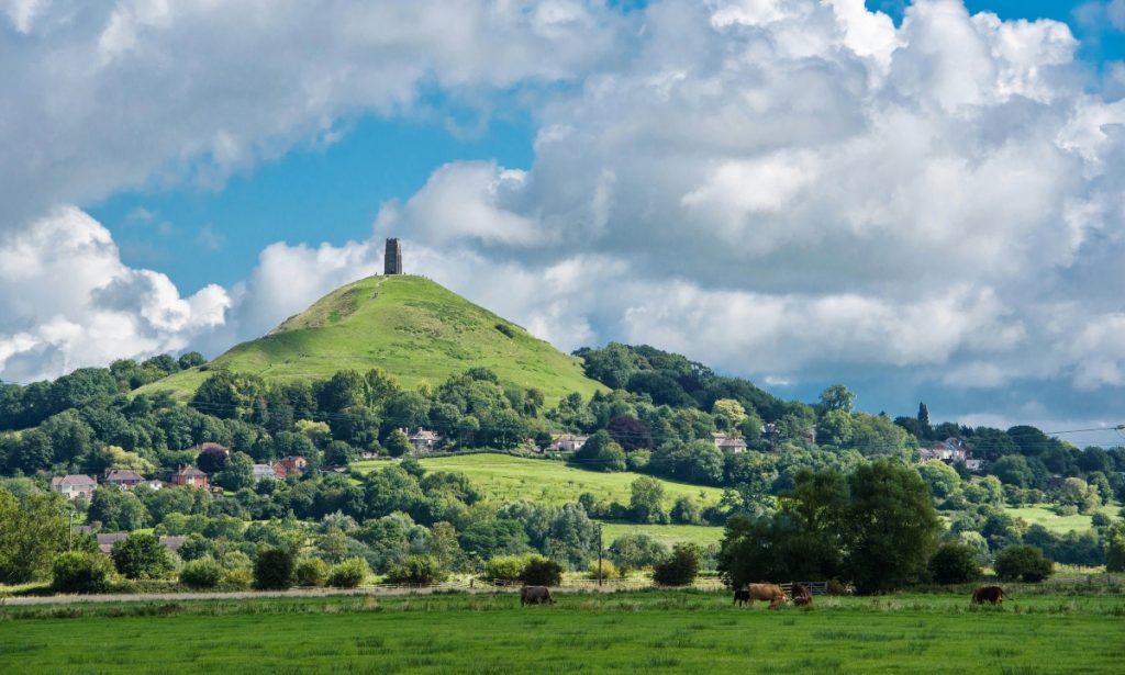 Glastonbury the earth's third eye chakra